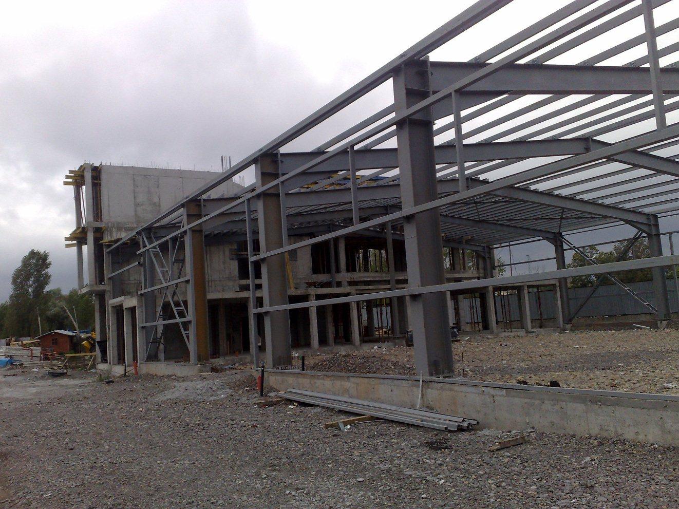 Административна сграда и складова база, Мрамор
